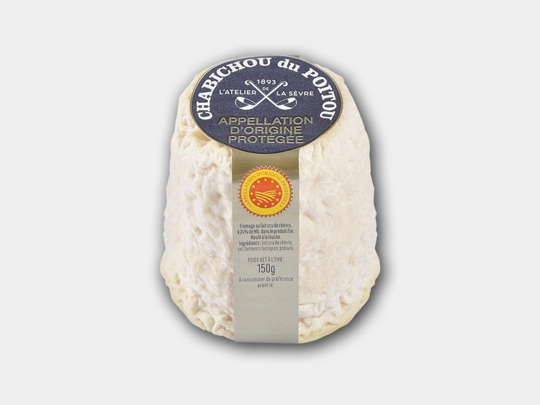 Le Chabichou du Poitou AOP 150g - fromage de chèvre au lait cru - moulé à la louche - Atelier de la sèvre
