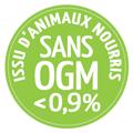 Logo animaux nourris sans OGM - Beurre d' Échiré Terroir